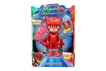 PJ Masks Deluxe Talking Owlette Figure with Binoculars
