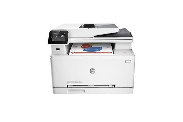 HP COLOUR LASERJET PRO M277DW MFP COPY SCAN FAX A4 18 18PPM DC 30K RMPV 2.5K USB NIC WIFI EPRINT AIRPRINT 150 SHEET INPUT 50 SHEET ADF DUPLEX