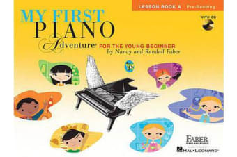 Piano Adventures - My First Piano Adventure - Lesson Book A/CD