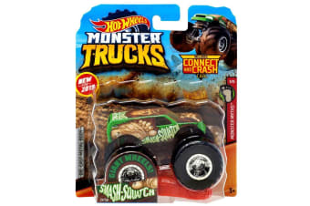 Hot Wheels Monster Trucks 1:64 Smash-Squatch