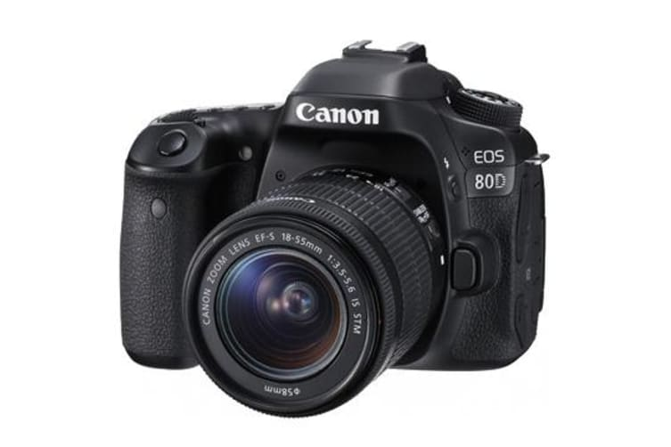 New Canon EOS 80D 24.2MP Kit (18-55mm) Digital Cameras (FREE DELIVERY + 1 YEAR AU WARRANTY)