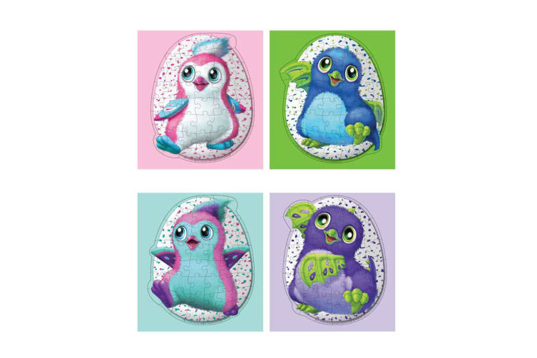 46pc Hatchimals Egg Jigsaw Puzzle Educational/Learning Fun Toy Kids/Children 4y+