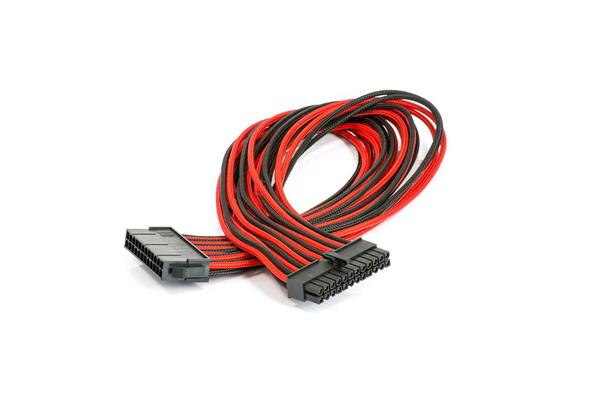Phanteks Motherboard 24-pin Extension Cables Black & Red