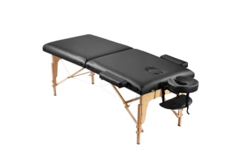 Adjustable 75cm Full Body Massage Bed Beauty Treatment Bed w/ Carrying Bag