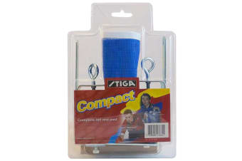 Stiga Compact Net & Post w/ Screws On f/ Table Tennis/Ping Pong Game Table Set