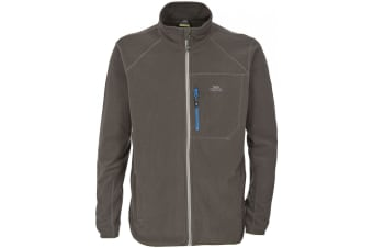 Trespass Mens Zoro Full Zip Fleece Jacket (Khaki) (XS)