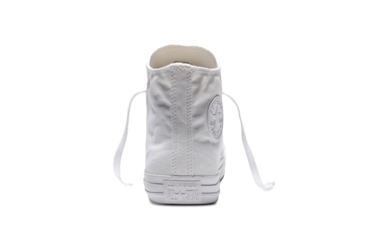 Converse Chuck Taylor All Star Hi (White Mono, US Mens 6 / US Womens 8)
