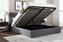 Ovela Gas Lift Storage Bed Frame