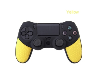 Select Mall Silicon Cover Case Protection Skin for Playstation 4 PS4 for Dualshock 4 Game Controller-Yellow
