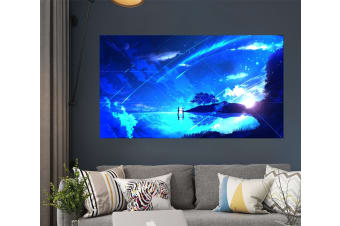 3D Your Name 20 Anime Wall Stickers Self-adhesive Vinyl, 100cm x 60cm(39.3'' x 23.6'') (WxH)