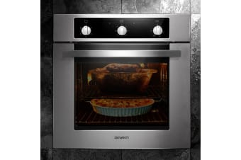 60cm Electric Built in Wall Oven Stainless Steel Grill Convection