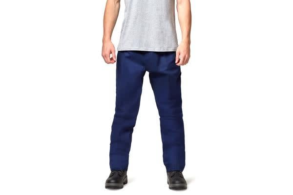 King Gee Steel Tuff Drill Pants (Navy, Size 97S)