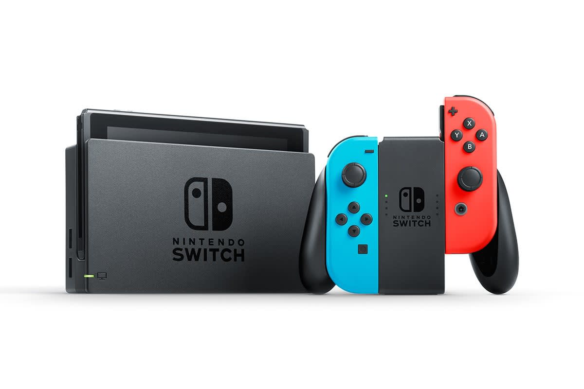 Image of Nintendo Switch Console - Neon