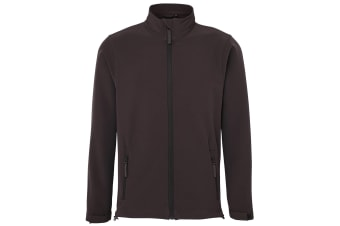 RTXtra Mens Classic 2 Layer Softshell Jacket (Charcoal)