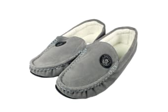 Manchester City FC Mens Moccasins (Grey) (11/12 UK)