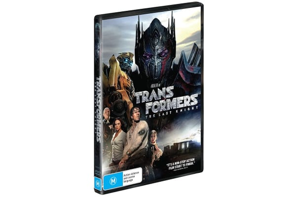 Transformers - The Last Knight DVD