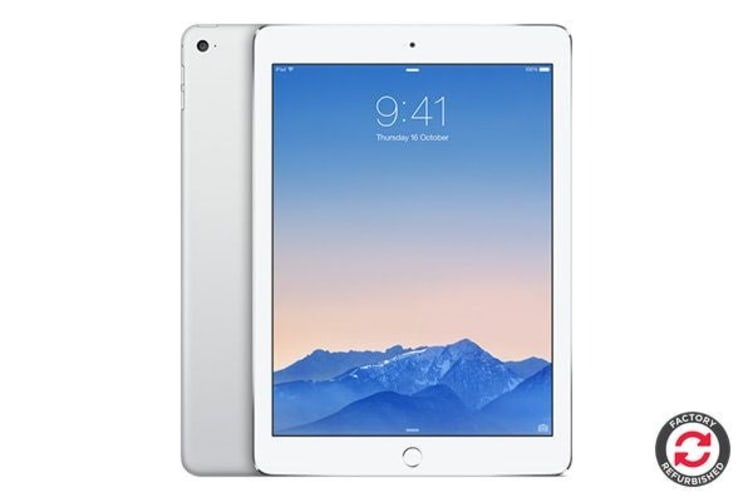 Apple iPad Air 2 Refurbished (64GB, Wi-Fi, Silver) - AB Grade