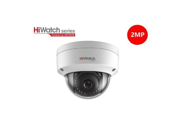 Hiwatch 2MP 1080P Full HD IPC-D120-I Dome POE IP67  Camera with 4mm Fixed  Lens