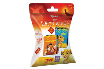 36pc Lion King Snap Playing Deck Card Educational Games/Toys Kids/Children 3y+