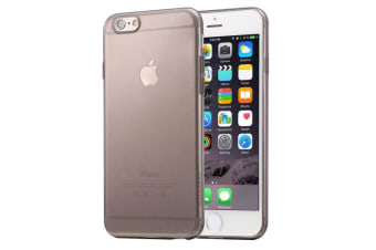 For iPhone 6S PLUS 6 PLUS Case Ultra-Thin Transparent Protective Cover Black