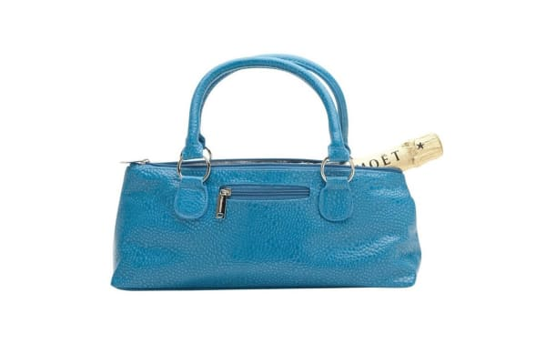 Insulated Wine Clutch - Blue Turquoise