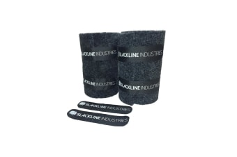 Slackline Treepro Tree Protection Set Xl 2M X 25Cm (2 Pack) Black