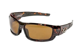 Mustad Hank Parker Polarized Fishing Sunglasses - Amber Lens - HP101A03