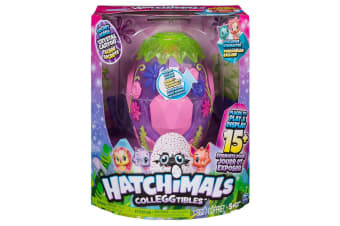 Hatchimals Colleggtibles Secret Scene Playset Crystal Canyon