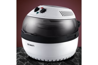 Devanti 10L Air Fryer Convection Oven Multifuctional Cooker Oil Free Less Fat WH