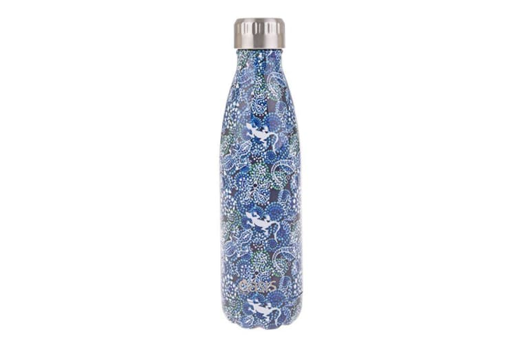 Oasis Stainless Steel Double Wall Insulated Drink Bottle 500ml Goanna