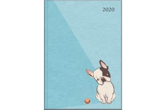 Boston Terrier - 2020 Diary Planner A5 Padded Cover by The Gifted Stationery