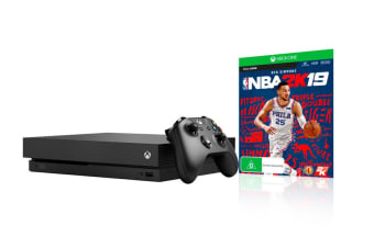 XB1 Xbox One Console X with NBA 2K19