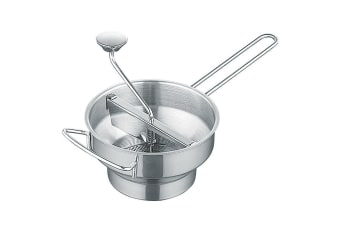 Avanti Stainless Steel Rotary Food Mill Strainer Masher Fruit Vegetable Tool