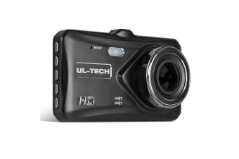 UL-TECH Dash Camera Dual Cam Reversing Car 4'' Recorder 32GB DVR Reverse 1080P