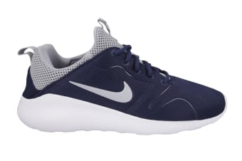Nike Men's Kaishi 2.0 Running Shoes (Midnight Navy/Wolf Grey/White, Size 8.5 US)