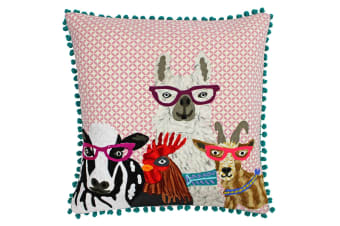 Paoletti Funky Animal Cushion Cover (Selfie)