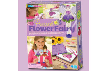 Pressed Flower Fairies Craft Kit|Press Flowers To Create Fairy Models!