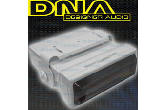 Dna Boat Marine Radio White Head Unit Housing Cover Case On Or Under Dash Mac001