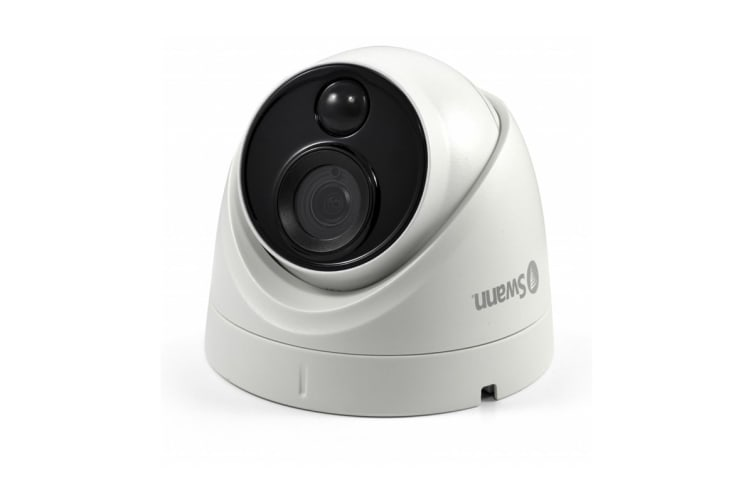 Swann 4K Ultra HD True Detect Thermal Sensing Dome Camera with IR Night Vision (PRO-4KMSD)