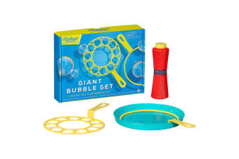 Giant Bubbles Blower Wand Set | Blow Bubbles Big `n Small!