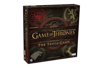 Game Of Thrones Strategy Trivia Board Game | Official HBO Product