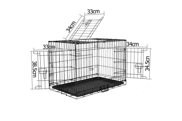 Foldable Pet Crate 30Inch