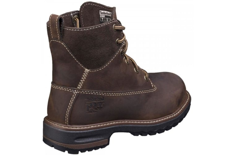 Timberland Pro Womens/Ladies Hightower Lace Up Safety Boots (Coffee) (7 UK)