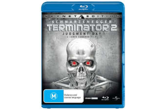 Terminator 2 Judgment Day Blu-ray Region B