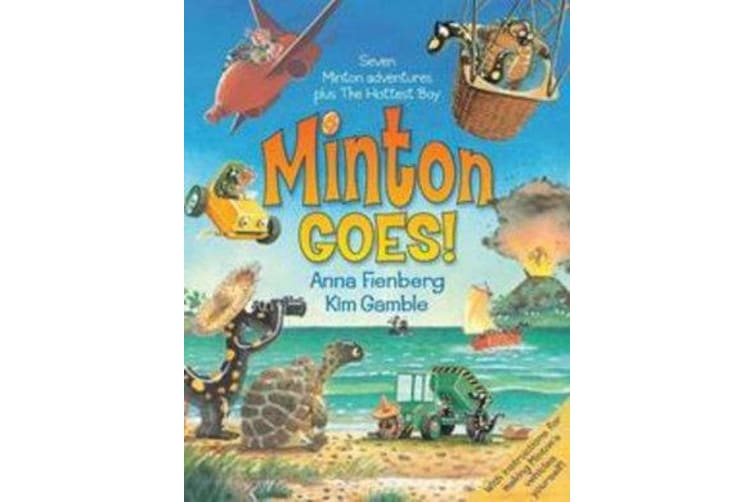 Minton Goes! - The Complete Adventures of Minton and Turtle