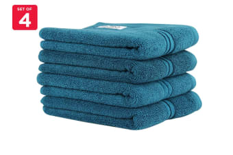 Onkaparinga Ethan 600GSM Hand Towel Set of 4 (Jade)
