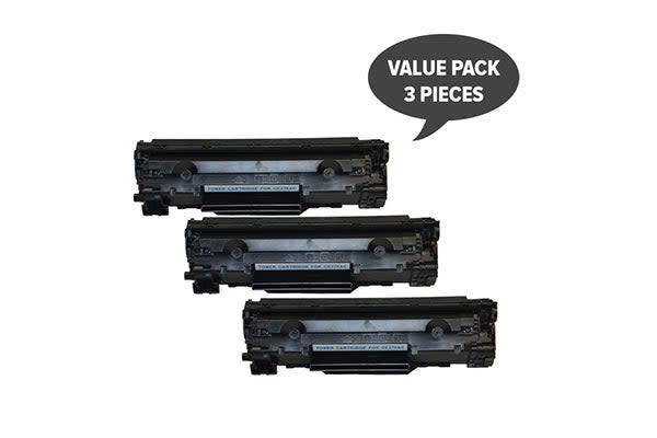 CE278 HP #78A Cart326 Black Generic Toner (Three Pack)