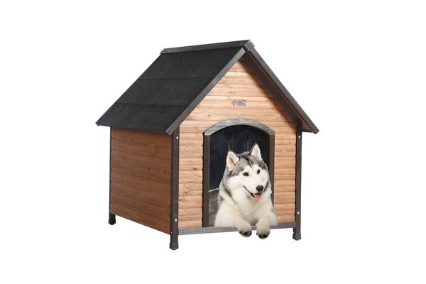 Wooden Dog House Pet Kennel XL-Size