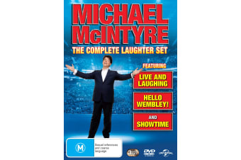 Michael McIntyre Live and Laughing / Hello Wembley / Showtime DVD Region 4