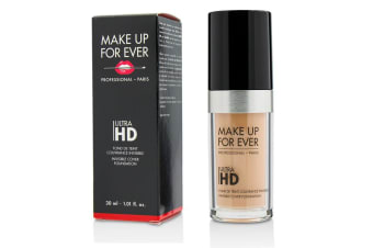 Makeup For Ever Ultra HD Invisible Cover Foundation - # R220 (Pink Porcelain) 30ml/1.01oz